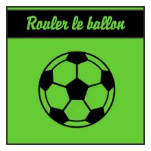 Rouler le ballon
