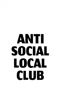 cover Anti Social Local Club Member