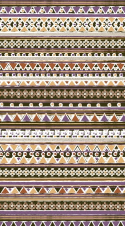 cover Brown aztec native bandana