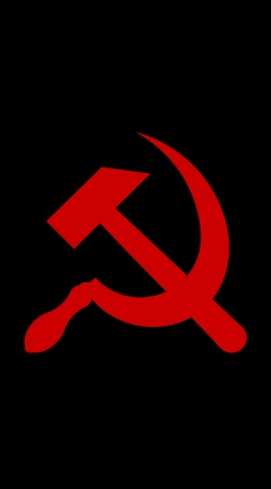 cover Communist sickle and hammer