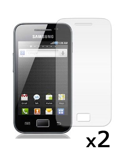 2 Protective Screen Film Samsung Galaxy Ace S5830
