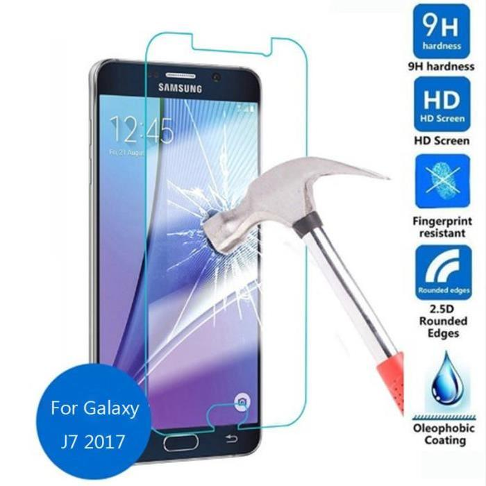 Samsung Galaxy J7 2017 Screen Protector - Premium Tempered Glass