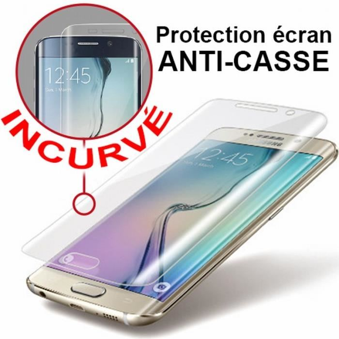 Samsung Galaxy S7 Edge Screen Protector - Premium Tempered Glass
