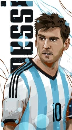 cover Football Legends: Lionel Messi World Cup 2014