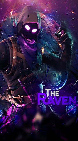 cover Fortnite The Raven