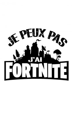 cover I cant i have Fortnite