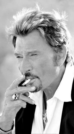 cover johnny hallyday Smoke Cigare Hommage