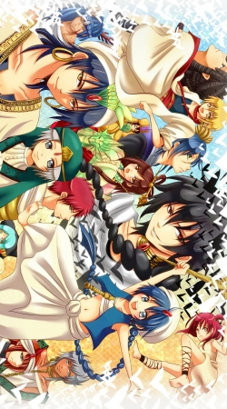 cover Magi Fan Art