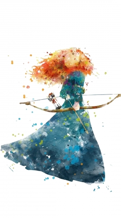 cover Merida Watercolor
