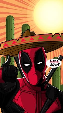 cover Mexican Deadpool