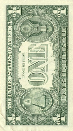 cover Money One Dollar