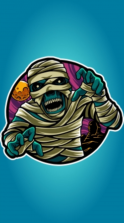 cover mummy vector