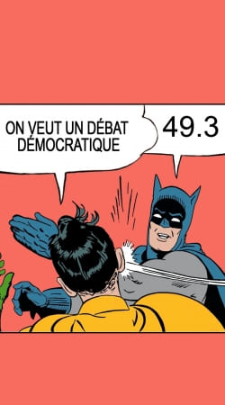 cover On veut un debat 493
