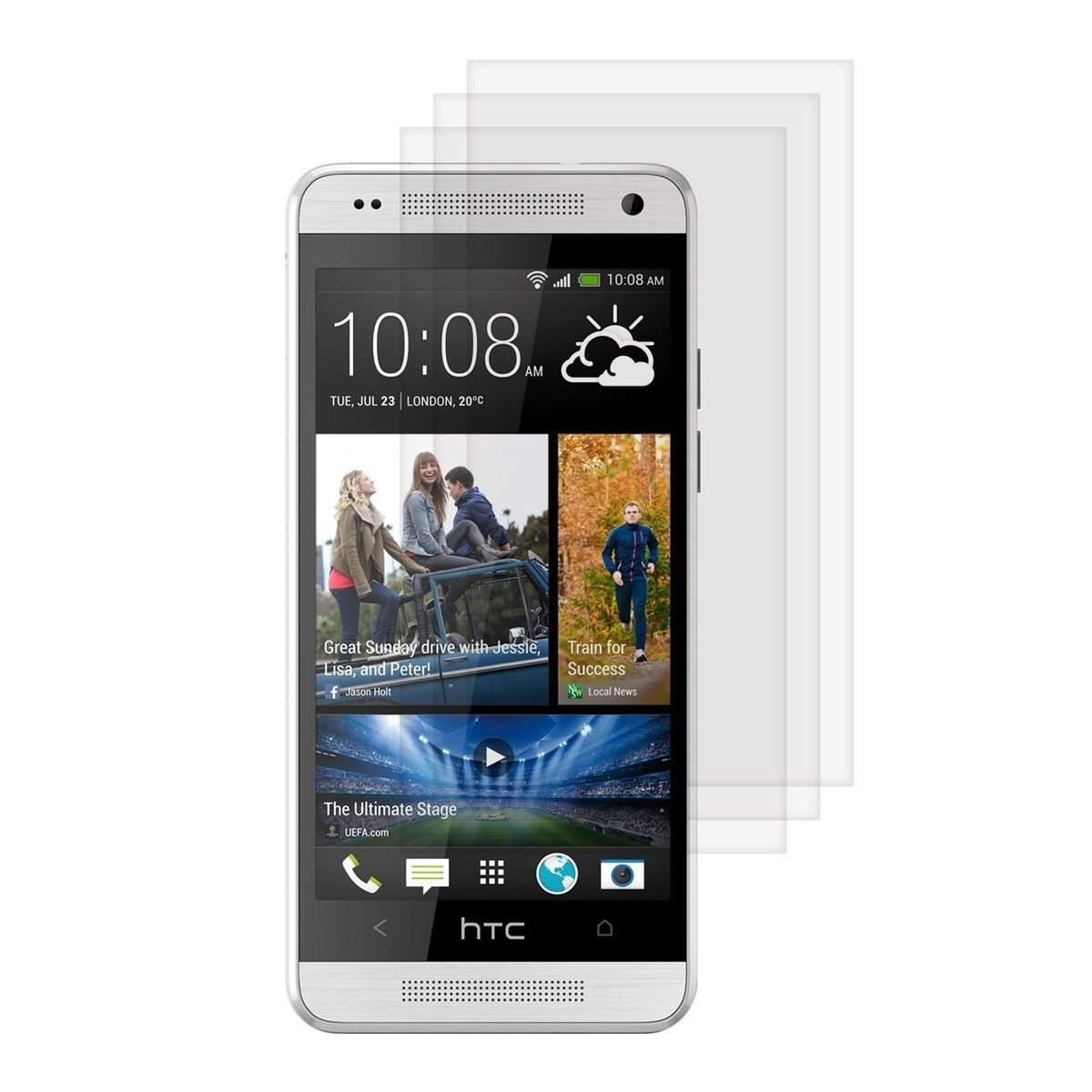 Screen Protector 2-in-1 Pack - HTC One Max