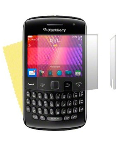 2 Protective Screen Films Blackberry Curve 9360