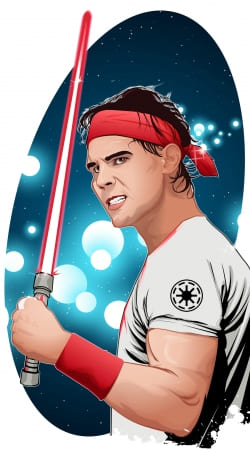 cover Star Wars Collection: Rafael Nadal Sith ATP