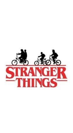 cover Stranger Things by bike