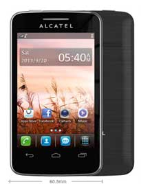 Alcatel One Touch Tribe 3040 case