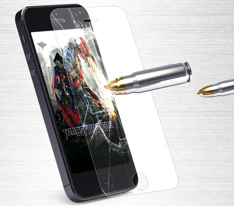 Iphone 5C Screen Protector - Premium Tempered Glass