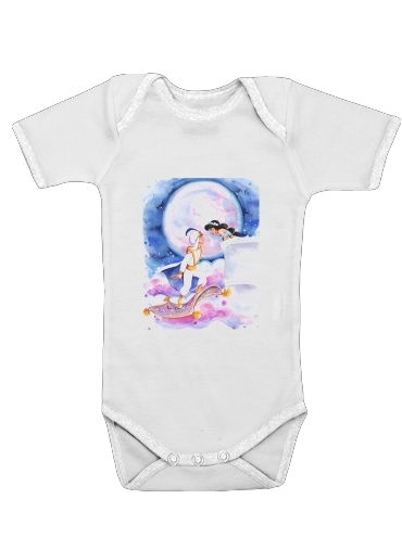 Aladdin Whole New World for Baby short sleeve onesies