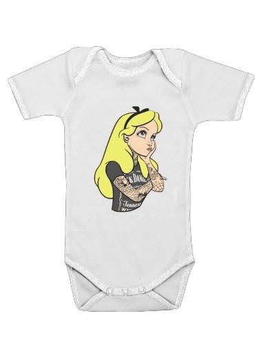 Onesies Baby Alice Jack Daniels Tatoo