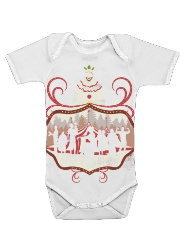 American circus for Baby short sleeve onesies