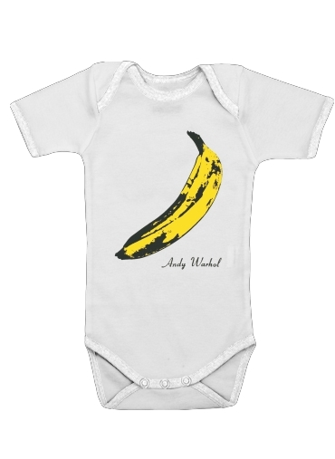Andy Warhol Banana for Baby short sleeve onesies