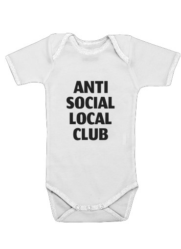 Onesies Baby Anti Social Local Club Member