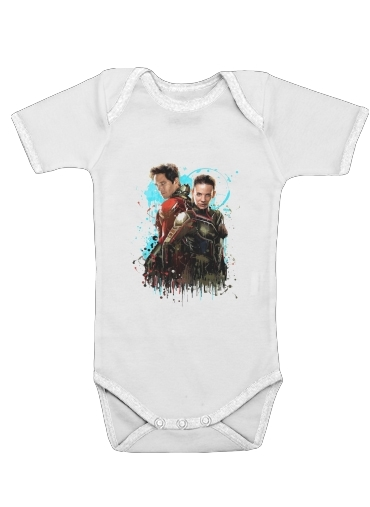 Antman and the wasp Art Painting for Baby short sleeve onesies