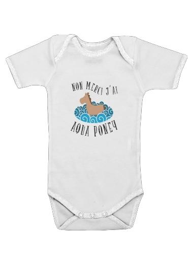 Onesies Baby Aqua Ponney