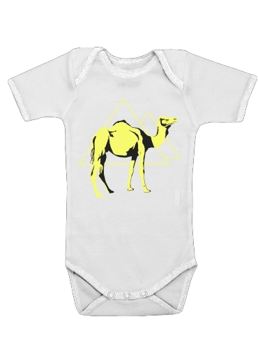 Arabian Camel (Dromedary) for Baby short sleeve onesies