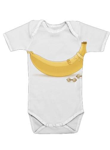 Banana Crunches for Baby short sleeve onesies