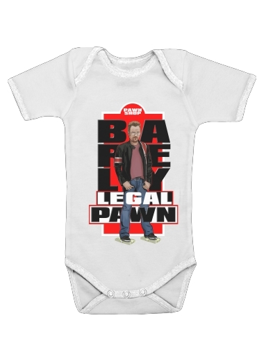 BARELY LEGAL PAWN for Baby short sleeve onesies