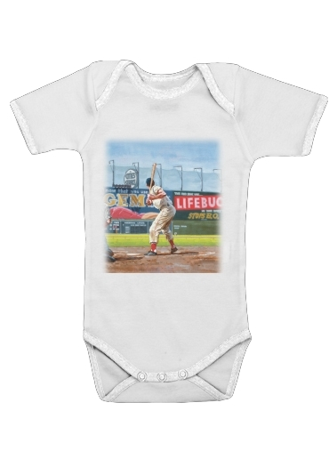 Baseball Painting for Baby short sleeve onesies
