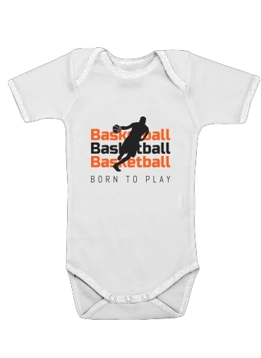 Onesies Baby Basketball Born To Play