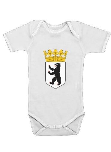 Onesies Baby Berlin Flag