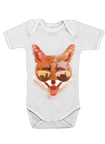 Big Town Fox for Baby short sleeve onesies