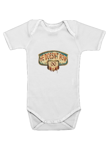 Bioshock Infinite for Baby short sleeve onesies