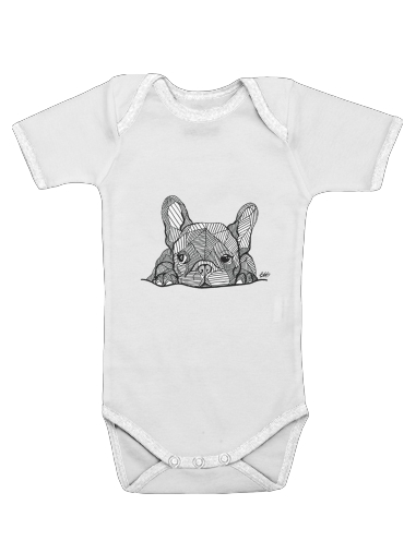Bouledogue for Baby short sleeve onesies