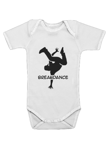Break Dance for Baby short sleeve onesies