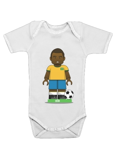 Onesies Baby Bricks Collection: Brasil Edson