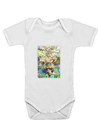 Broly Evolution for Baby short sleeve onesies
