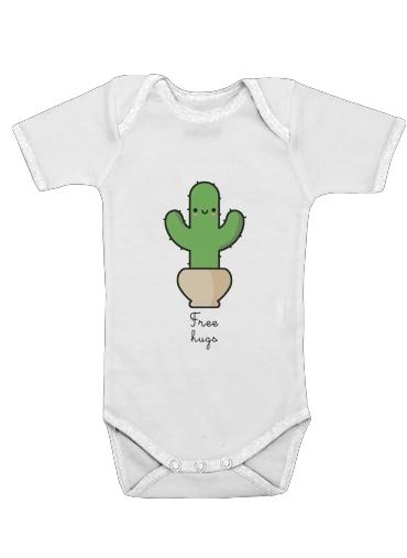 Onesies Baby Cactus Free Hugs