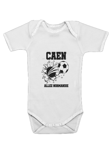 Onesies Baby Caen Football Shirt