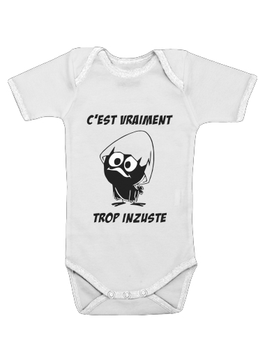 Calimero Vraiment trop inzuste for Baby short sleeve onesies