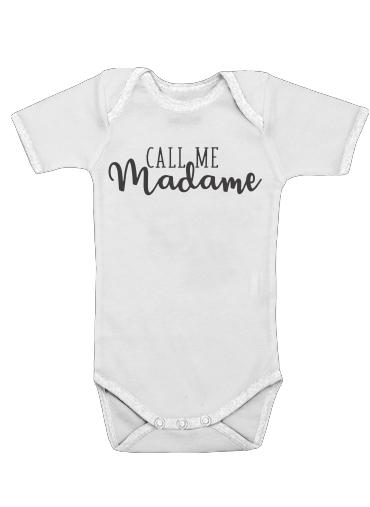 Onesies Baby Call me madame
