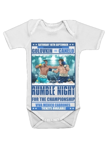 Onesies Baby Canelo vs Golovkin 16 September