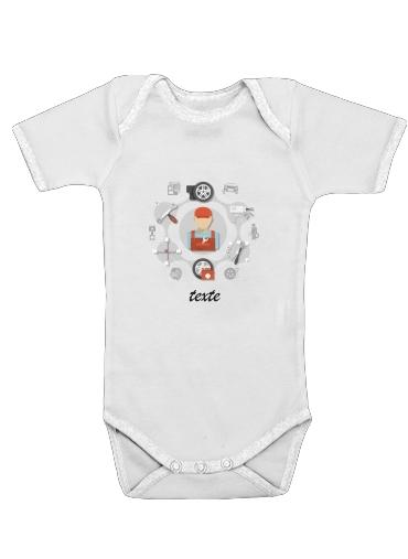 Onesies Baby Car Service Logo