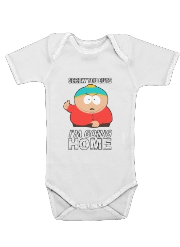 Cartman Going Home for Baby short sleeve onesies