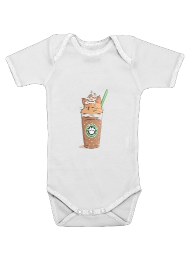 Catpuccino Caramel for Baby short sleeve onesies